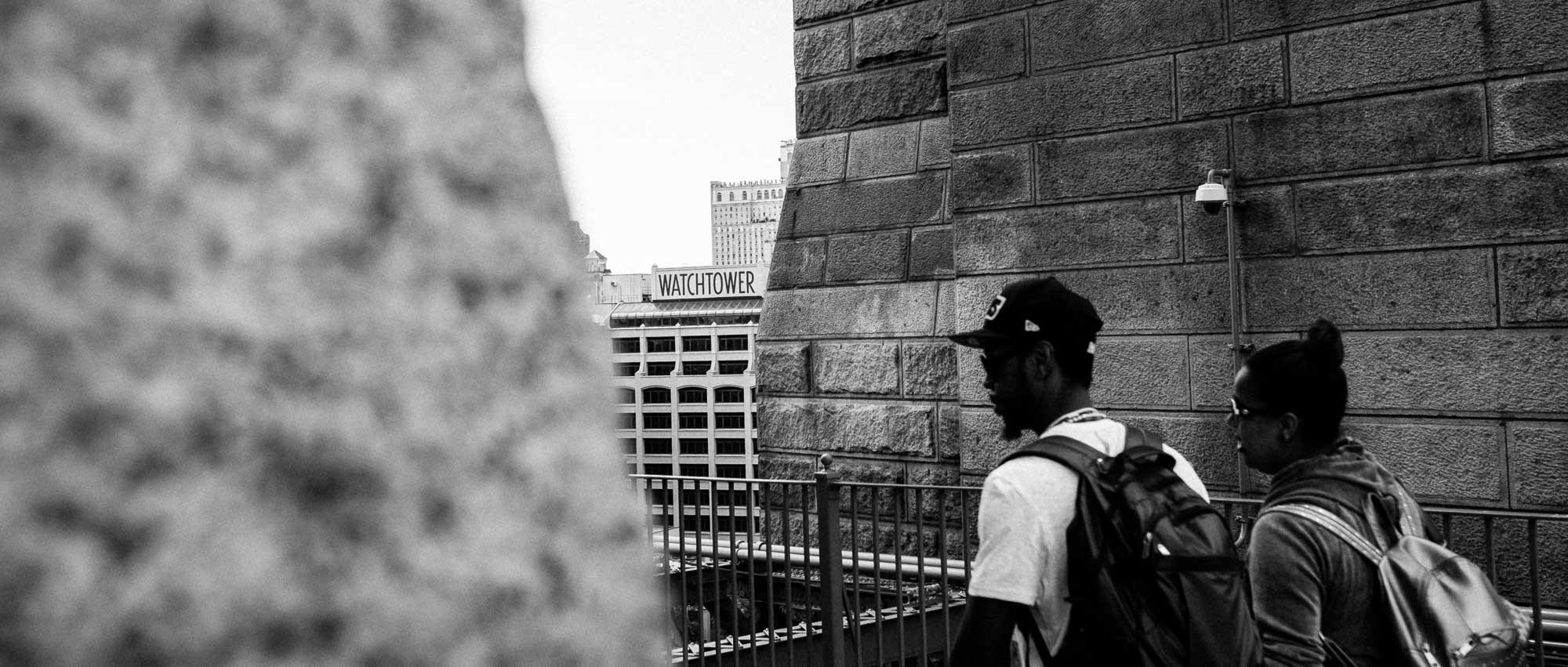 reise bericht new york gotham watchtower brooklyn bridge
